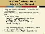 veterans treatment court mentor court network