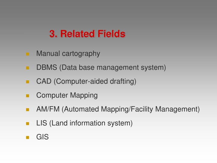 3. Related Fields