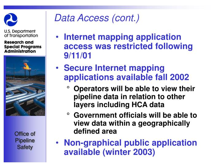 Data Access (cont.)