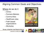 aligning common goals and objectives2