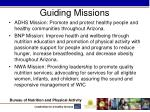 guiding missions