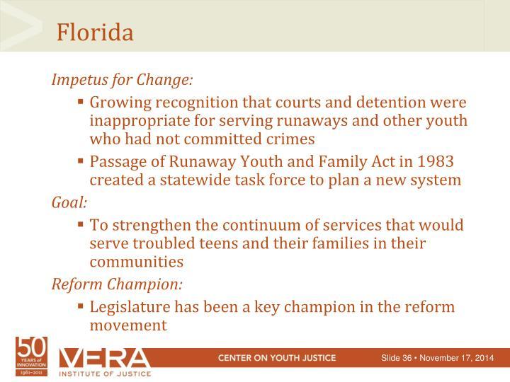 Impetus for Change:
