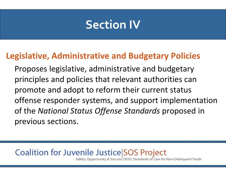 Section IV
