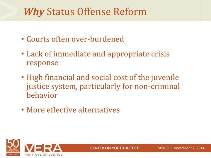 Courts often over-burdened