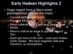 early hadean highlights 2