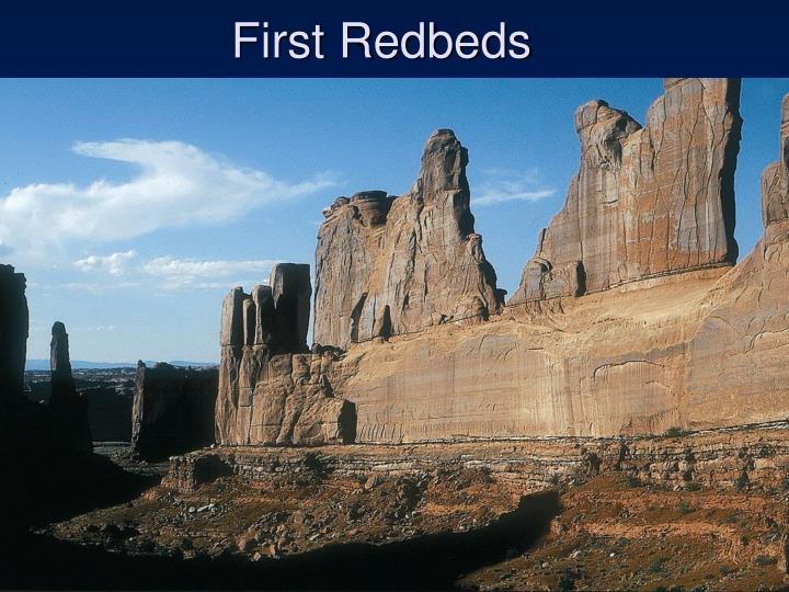 First Redbeds