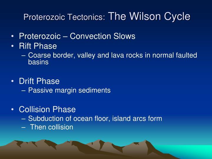 Proterozoic Tectonics: