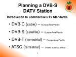 planning a dvb s datv station2