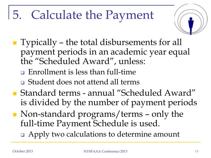 Calculate the Payment