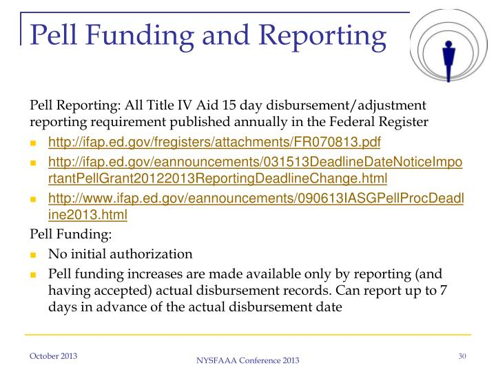 Pell Funding and Reporting