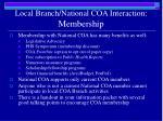 local branch national coa interaction membership1