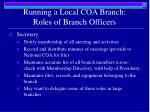 running a local coa branch roles of branch officers2