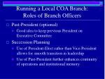 running a local coa branch roles of branch officers4