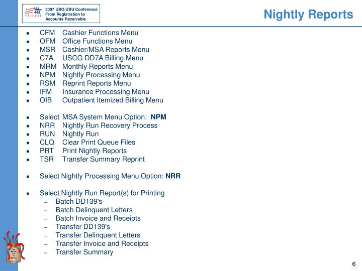 Nightly Reports
