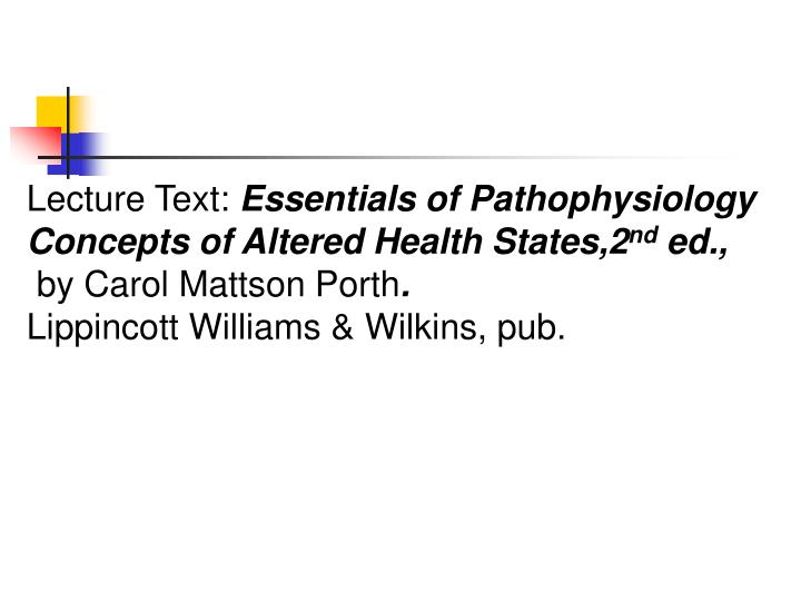 Lecture Text: