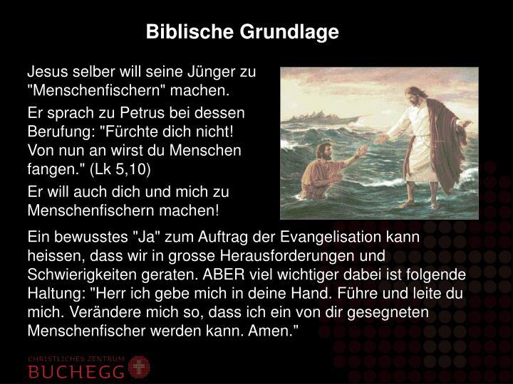 Biblische Grundlage