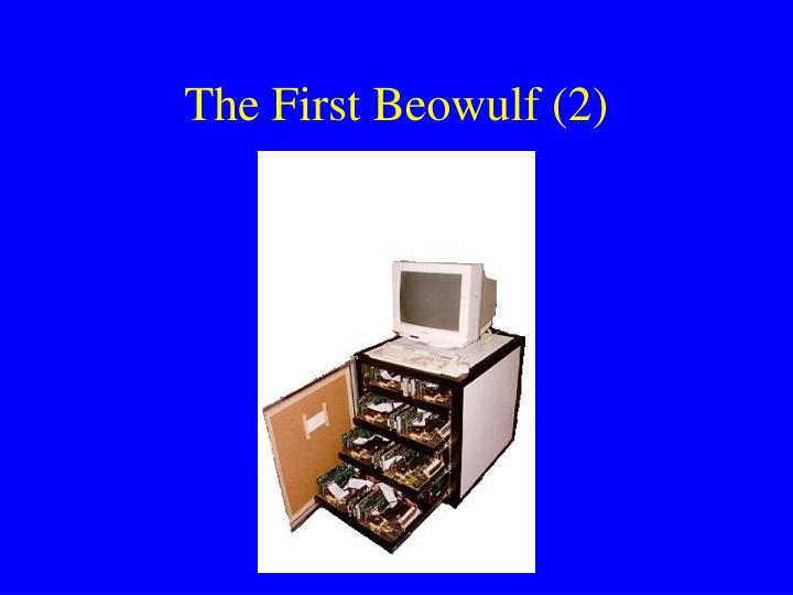 The First Beowulf (2)