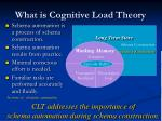 what is cognitive load theory3