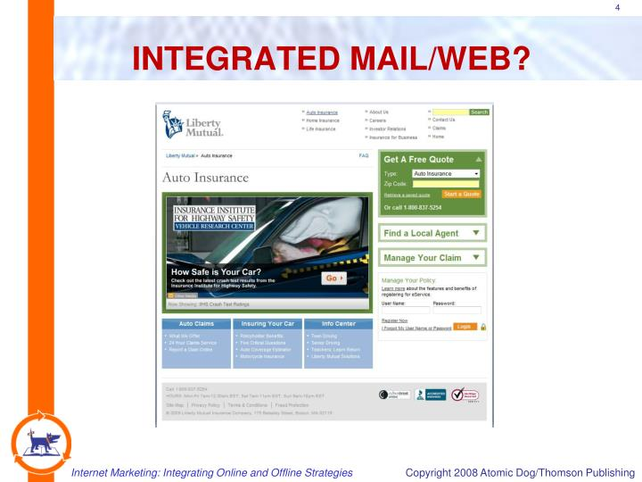 INTEGRATED MAIL/WEB?