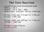 net ionic reactions1