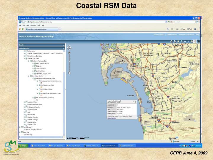 Coastal RSM Data
