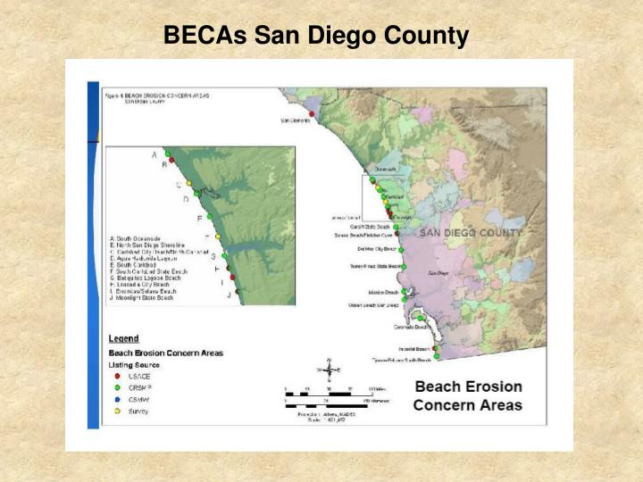 BECAs San Diego County