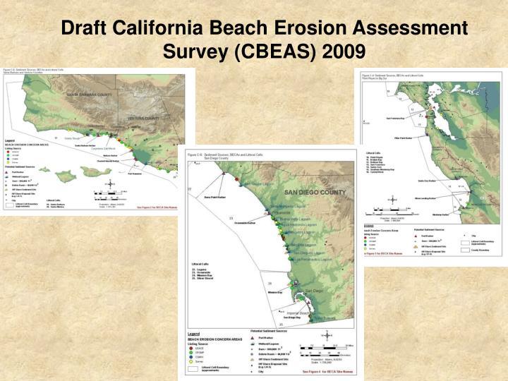 Draft California Beach Erosion Assessment  Survey (CBEAS) 2009