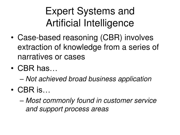 Expert Systems and