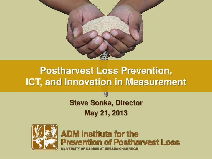 postharvest loss prevention ict and innovation in measurement