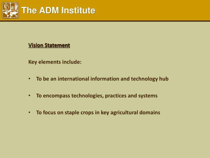 The ADM