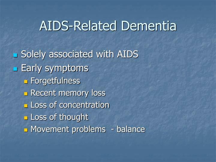 AIDS-Related Dementia