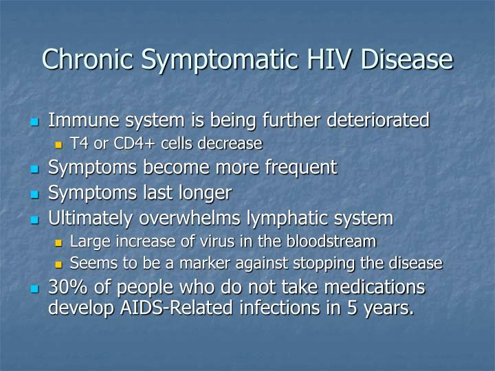 Chronic Symptomatic HIV Disease