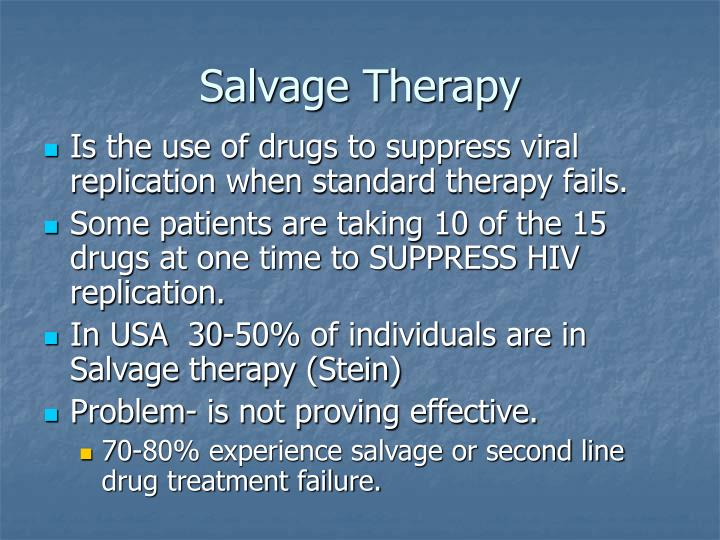 Salvage Therapy
