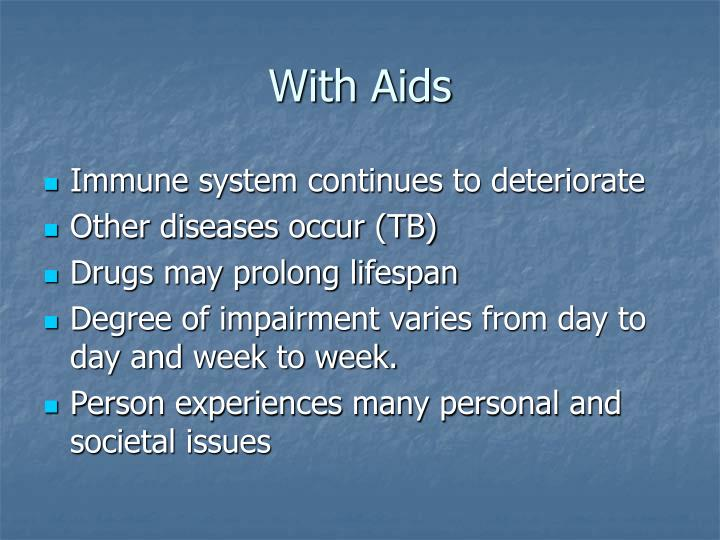 With Aids