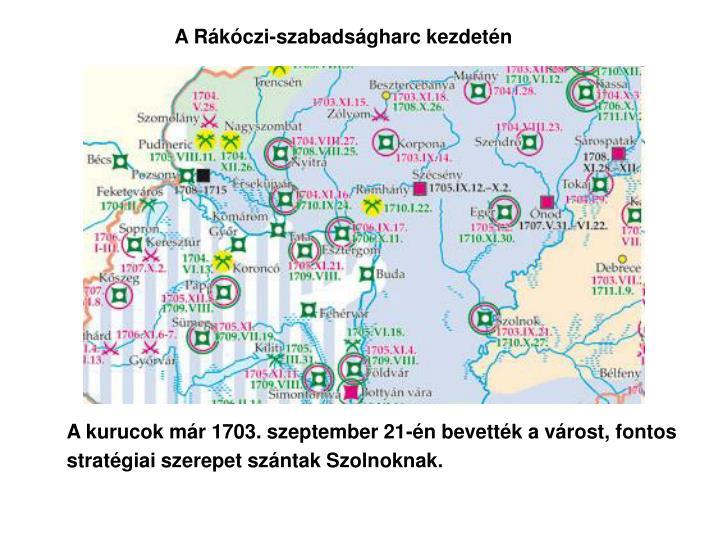 A Rákóczi-szabadságharc kezdetén