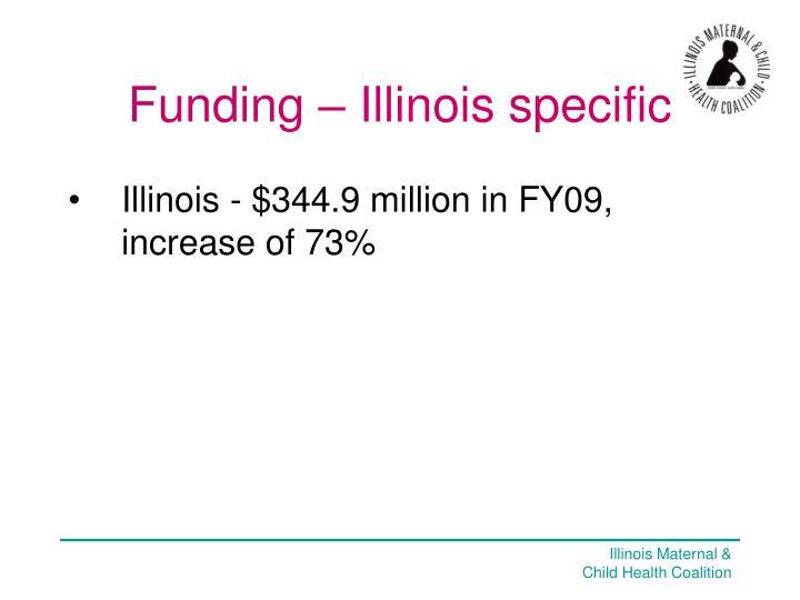 Funding – Illinois specific