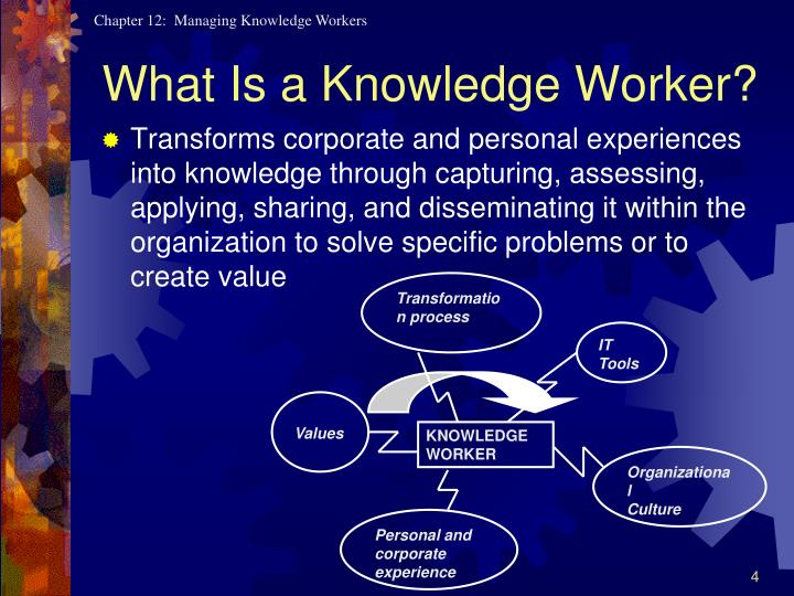 What Is a Knowledge Worker?