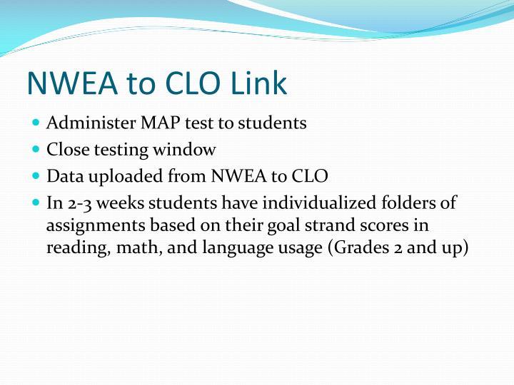 NWEA to CLO Link