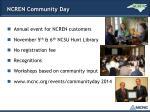 ncren community day