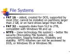 file systems1