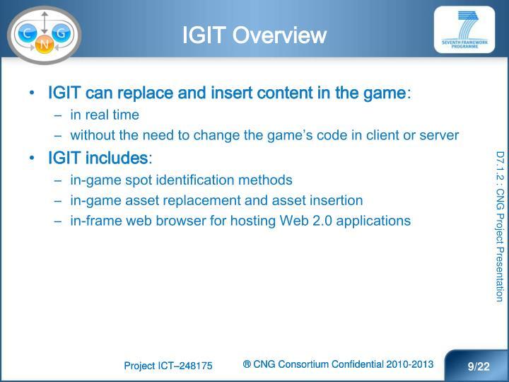 IGIT Overview