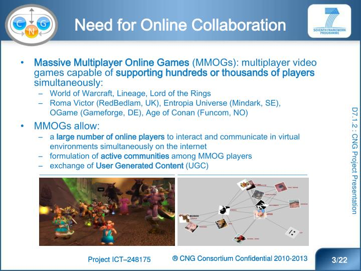 Need for Online Collaboration