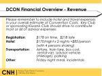 dcon financial overview revenue2