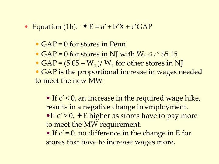 Equation (1b):