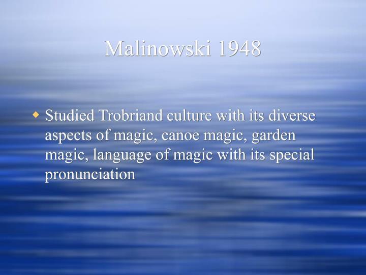 Malinowski 1948