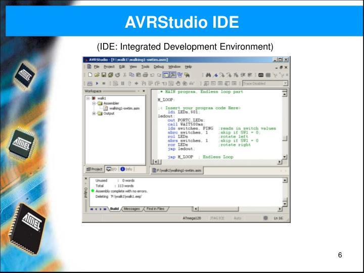 AVRStudio IDE