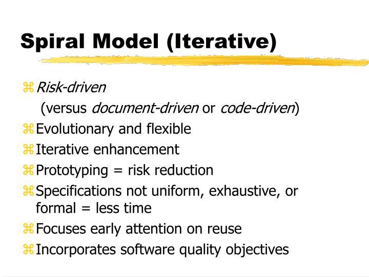 Risk-driven