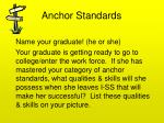 anchor standards1