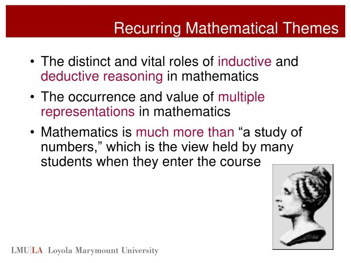 Recurring Mathematical Themes