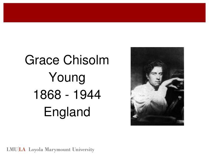 Grace Chisolm